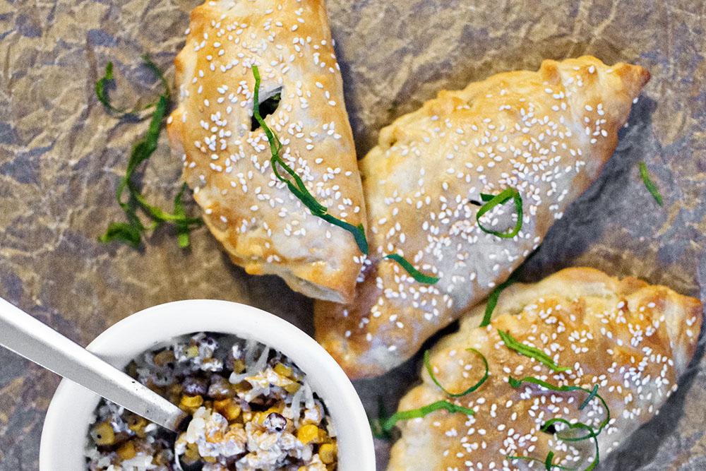 Asian flavored empanadas
