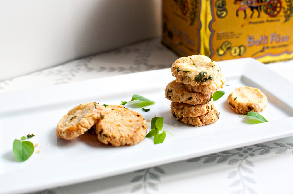Gruyère and Oregano Biscuits